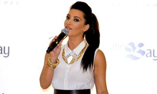 Photos: Kim Kardashian at The Bay in Toronto